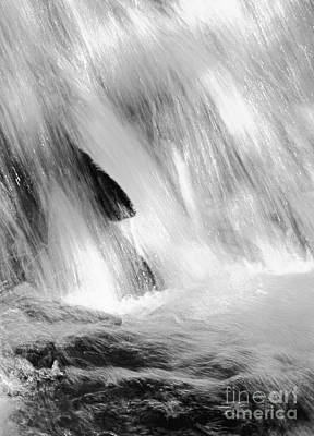 Waterfall Abstract Poster