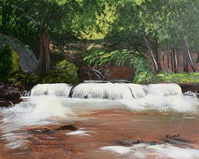 Waterfall Magic Poster