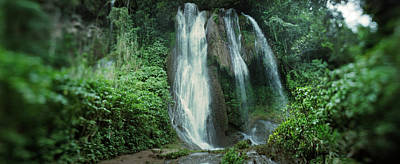 Waterfalls Of Topes De Collantes Poster by Panoramic Images