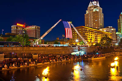 Waterfire Providence-9/11 Tribute Poster