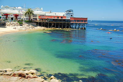 Waterfront At Cannery Row Poster