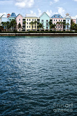 Waterfront Colors Poster by Margie Hurwich