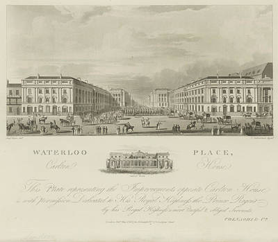 Waterloo Place Poster