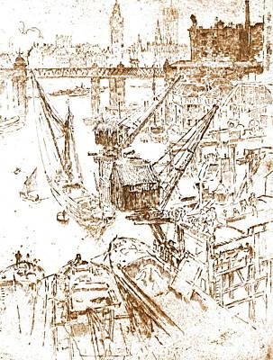 Waterloo Shipbuilding 1906 Poster