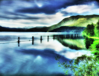 Waters Edge On The Harrison River British Columbia Poster