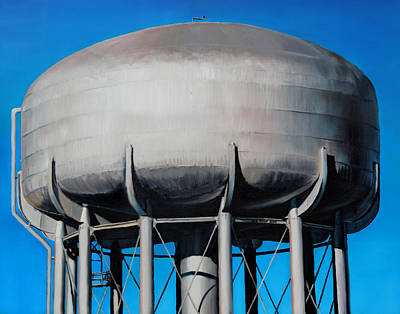 Watertower Poster by Baron Dixon