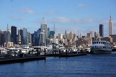 Waterview Of Manhattan Poster