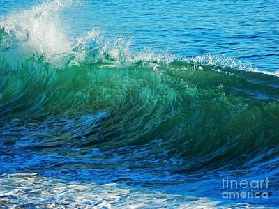 Wave Action Poster by Everette McMahan jr