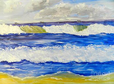 Wave At Bulli Beach Poster