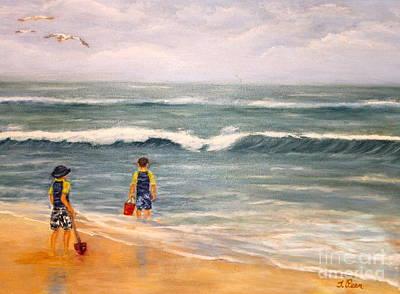 Wave Gazing Poster