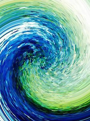 Wave To Van Gogh Poster