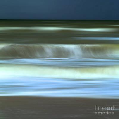 Waves Poster by Bernard Jaubert