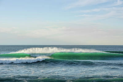 Waves Crashing In The Pacific Ocean Poster by Panoramic Images