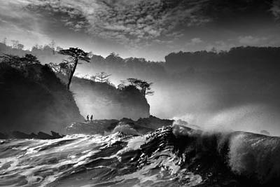 Waves Present That Morning Poster by Saelanwangsa