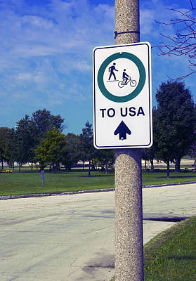 Way To The Usa Poster