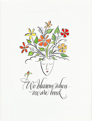 We Blossom Poster