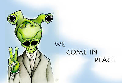 We Come In Peace Poster