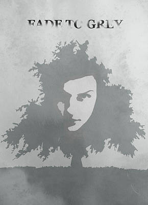 We Fade To Grey Poster by Steve K