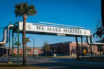 We Make Marines Poster