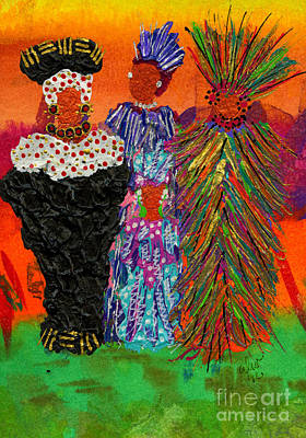 We Women Folk Poster by Angela L Walker