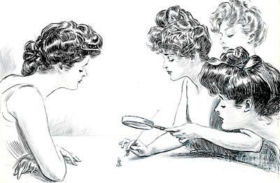 Weaker Sex 1903 Poster by Padre Art