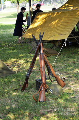 Weapons At Rest Poster by Paul Mashburn