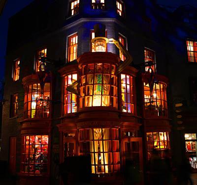 Weasleys Wizard Shop Poster by David Lee Thompson