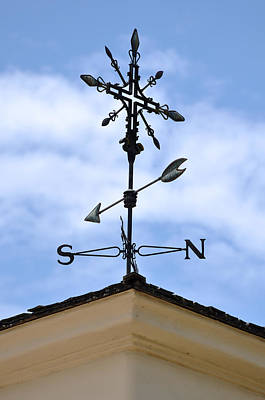 Weather Vane Poster by Brandon Bourdages