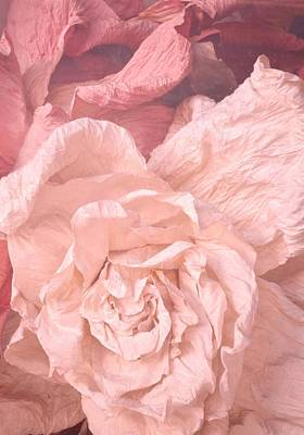 Weathered Roses Poster by Regina Avila