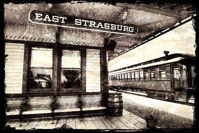 Weathered Rr Station Poster