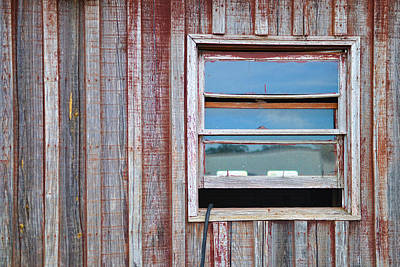 Weathered Window I Poster by Paulette B Wright
