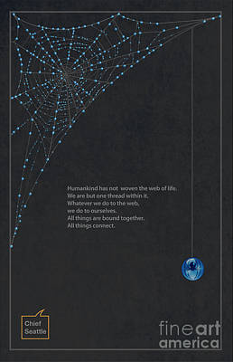 Web Of Life Poster