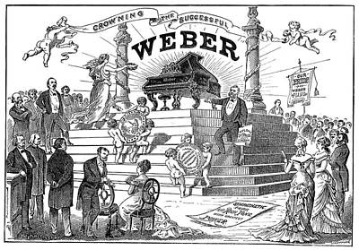 Weber Piano Company, 1877 Poster