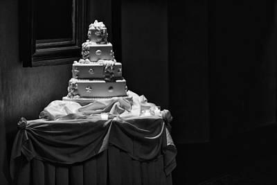 Wedding Cake Poster by Rick Berk