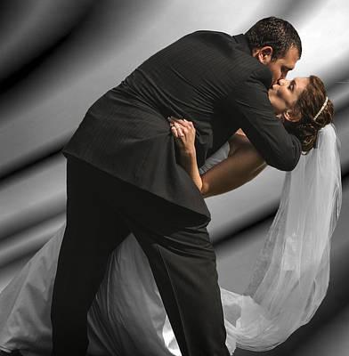 Wedding Kiss Poster