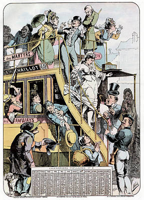 Wedding On A Tram Poster by Cci Archives