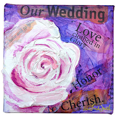 Wedding Rose Poster