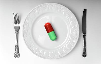 Weight-loss Drug Poster by Victor De Schwanberg