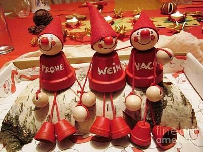 Weihnachten Christmas Poster by Nina Donner