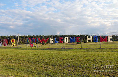 Welcome Home Poster by Gina Savage