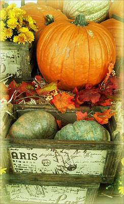 Welcome To Fall Poster by Michelle Frizzell-Thompson