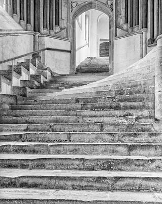 Wells Cathedral Chapter House Stairs Poster by John Ford