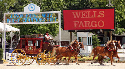 Poster featuring the photograph Wells Fargo At Devon by Alice Gipson