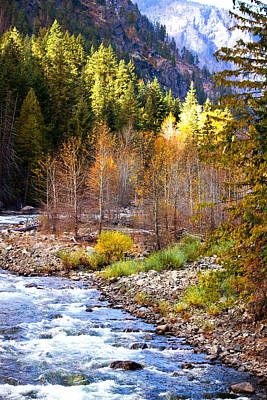 Wenatchee River - Leavenworth - Washington Poster
