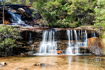 Poster featuring the photograph Wentworth Falls by Yew Kwang