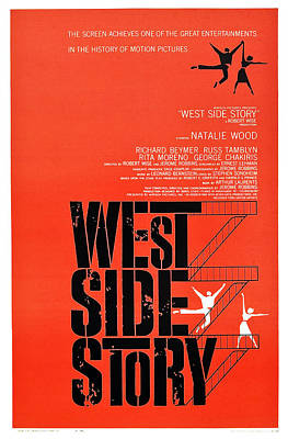 West Side Story, Poster Art, 1961 Poster by Everett