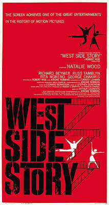 West Side Story, Us Poster Art, 1961 Poster by Everett
