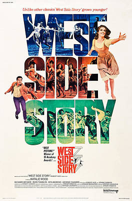 West Side Story, Us Poster Art, L-r Poster