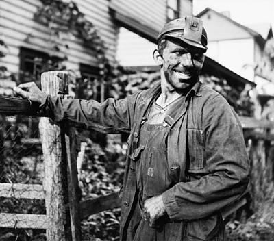 West Virginia Coal Miner 1937 Poster