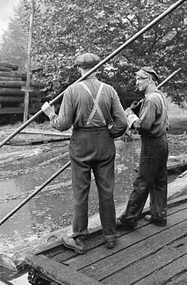West Virginia Sawmill, 1938 Poster